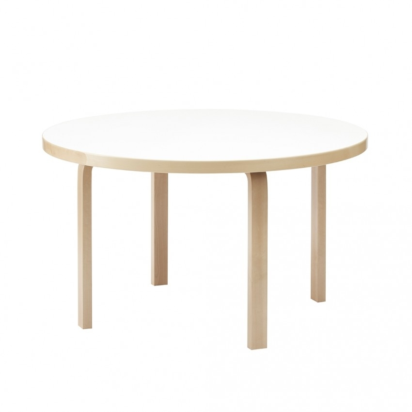 Round Dining Table 91 Birch & White – The Conran Shop Intended For Birch Dining Tables (Image 20 of 25)