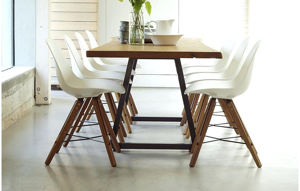 Round Dining Table And 8 Chairs 8 Person Dining Room Table Large 8 Within 8 Seat Dining Tables (Image 23 of 25)