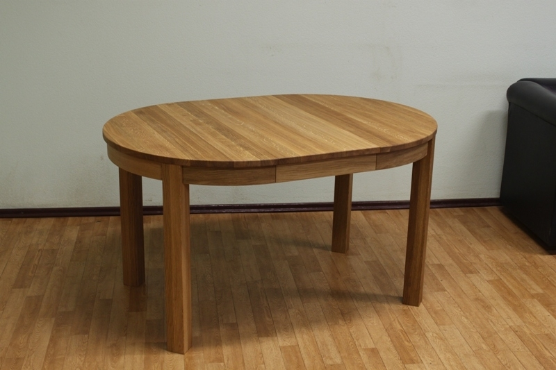 Round Dining Table | Extending Round Oval Dining Table In Extended Round Dining Tables (Image 18 of 25)
