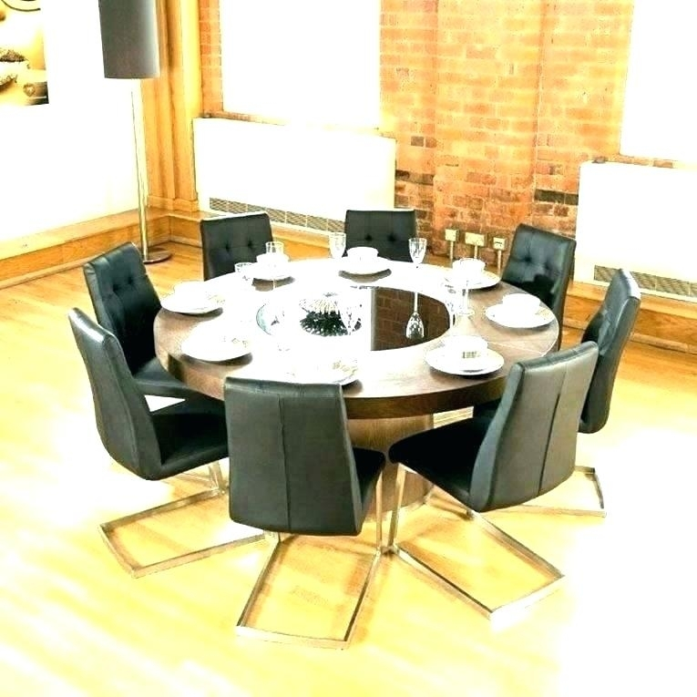 Round Dining Table For 6 – Pizzaitaliana Pertaining To 6 Person Round Dining Tables (View 9 of 25)