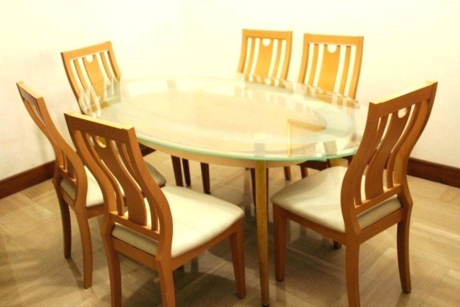 Round Dining Table For 6 – Pizzaitaliana Within Round 6 Seater Dining Tables (Image 20 of 25)