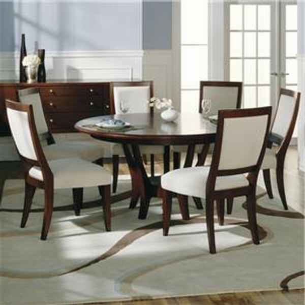 Round Dining Table For 6 Throughout 6 Seat Round Dining Tables (View 18 of 25)