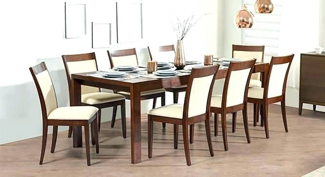 Round Dining Table For 6 To 8 Seats 8 Dining Table 6 To 8 Extendable For Extendable Dining Tables With 8 Seats (View 24 of 25)