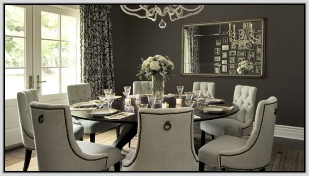 Round Dining Table For 8 With Lazy Susan | Dining Room | Pinterest Throughout Dining Tables For  (Image 21 of 25)