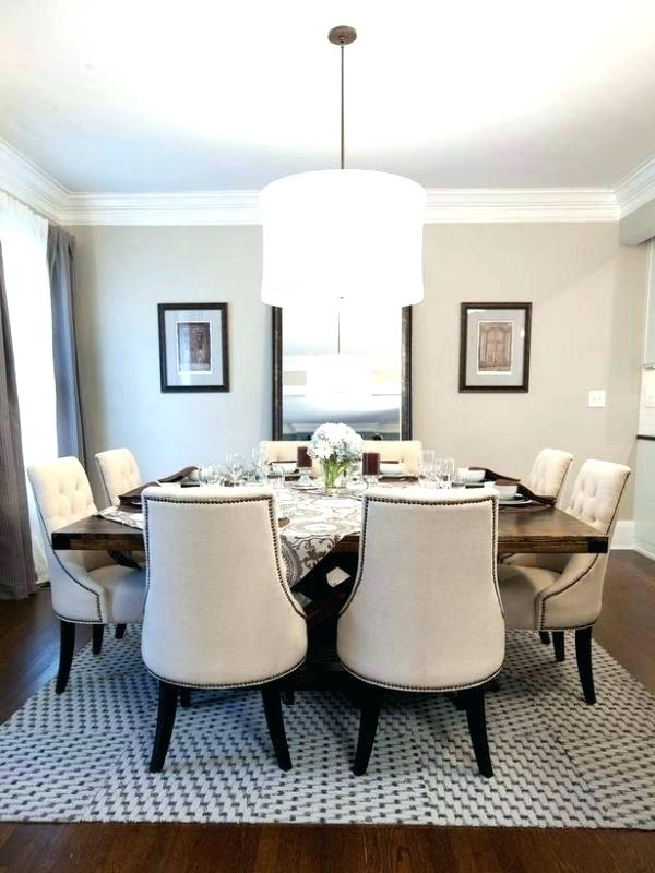 Round Dining Table For 8 With Leaf Square Dining Tables Seating 8 For Dining Tables Seats (View 4 of 25)
