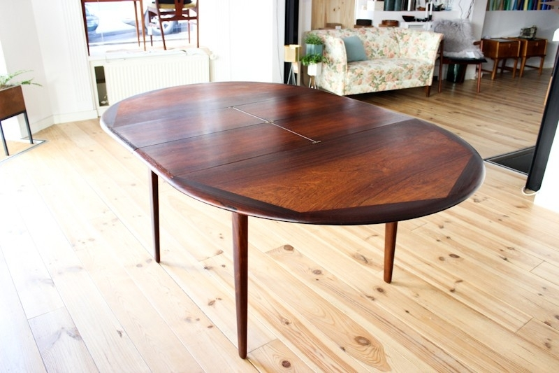Round Dining Table In Rio Palisander – 1960S – Design Market For Rio Dining Tables (Image 23 of 25)