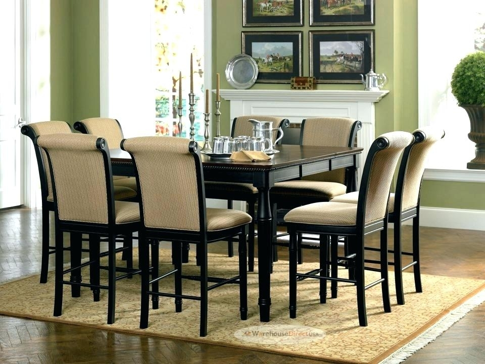 Round Dining Table Set For 8 Seater Chairs Sets With And Below 8000 Pertaining To Dining Tables And 8 Chairs Sets (Image 21 of 25)