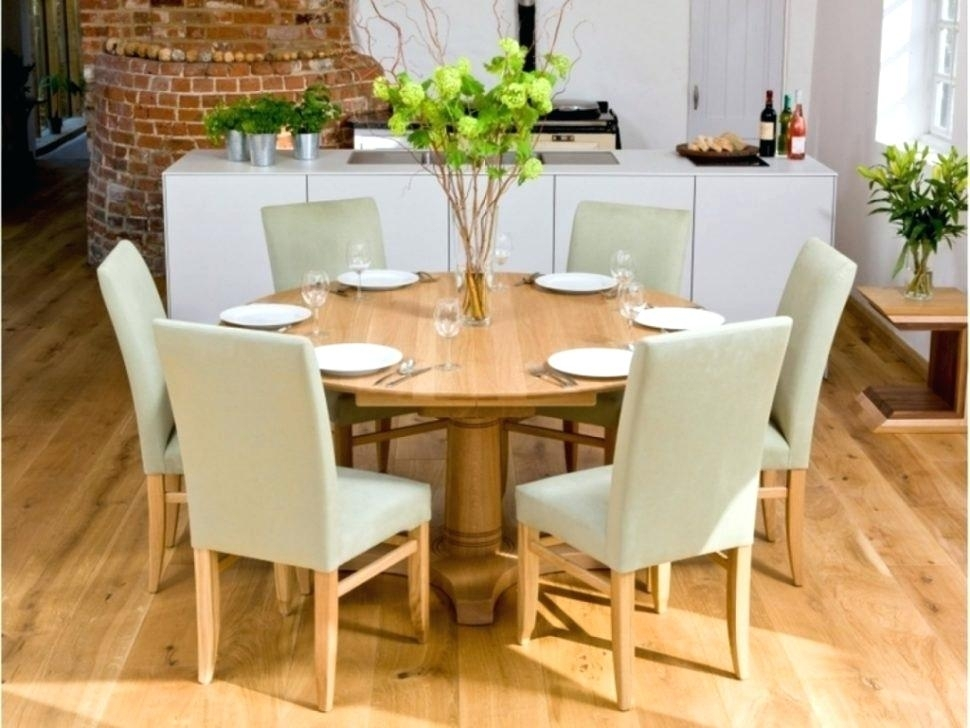 Round Dining Table Set For 8 Seater Chairs Sets With And Below 8000 Throughout 6 Seater Round Dining Tables (Image 20 of 25)
