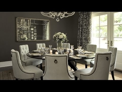 Round Dining Table Set For 8 – Youtube Within 8 Seater Round Dining Table And Chairs (Image 22 of 25)
