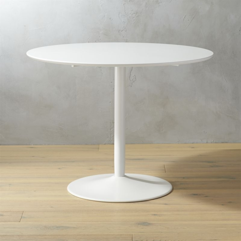 Round Dining Tables | Cb2 Intended For Cheap Round Dining Tables (Image 16 of 25)