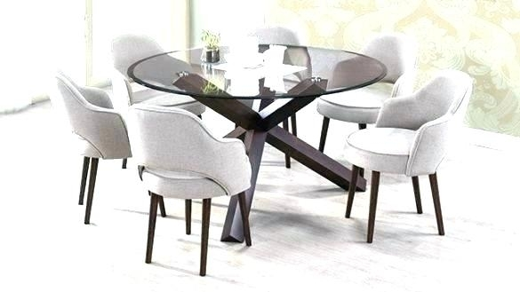 Round Dining Tables For 6 – Modern Computer Desk Cosmeticdentist Throughout Round 6 Seater Dining Tables (Image 22 of 25)