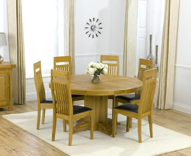 Round Dining Tables For 6 Round Dining Room Tables For 6 Dining Room For Round 6 Seater Dining Tables (Image 23 of 25)