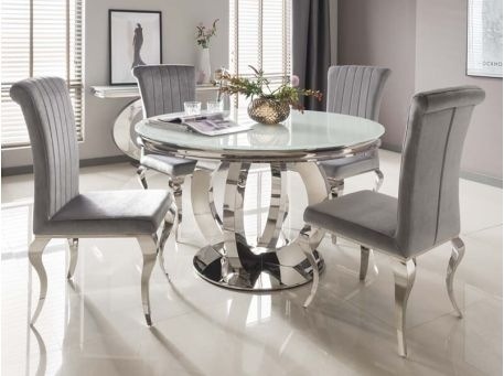 Round Dining Tables – Kitchen & Dining Furniture – Furniture In Cheap Round Dining Tables (Image 15 of 25)