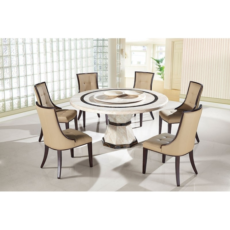 Round Dinner Table Set – Castrophotos Pertaining To Macie Round Dining Tables (Image 20 of 25)