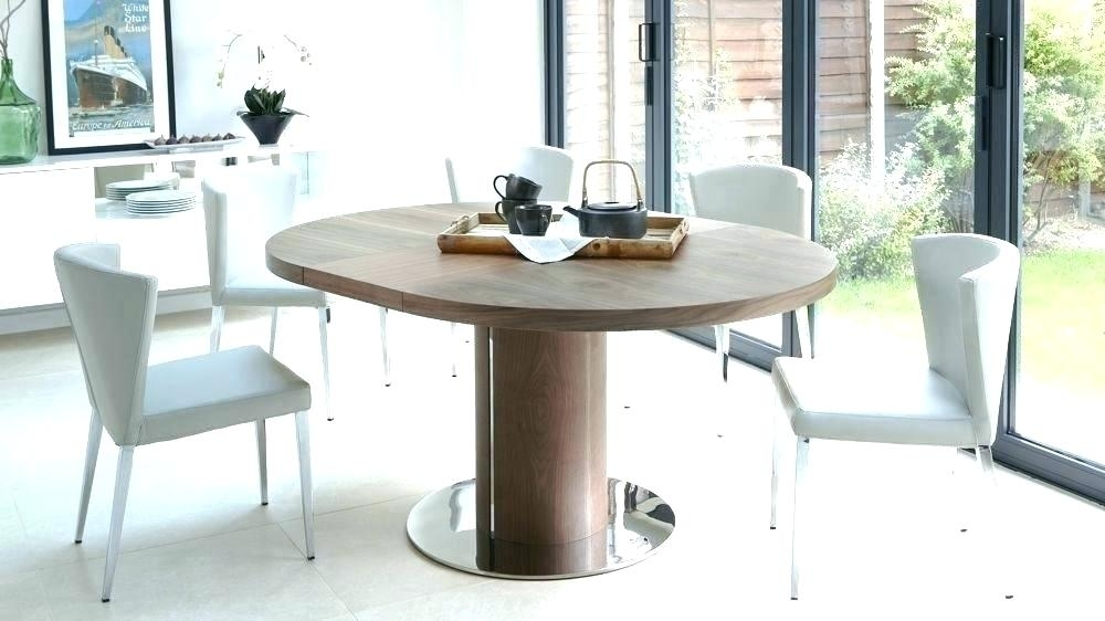Round Expanding Dining Table – Myhelp (Image 19 of 25)