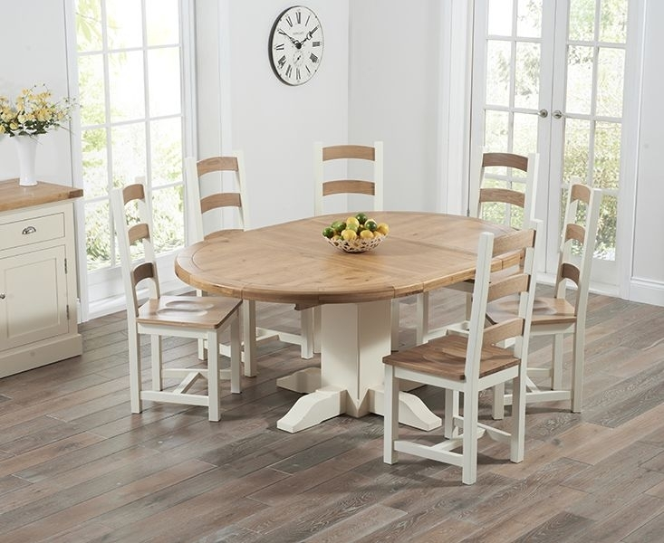 Round Extendable Dining Room Tables | Dining Furniture | Pinterest Regarding Round Oak Extendable Dining Tables And Chairs (View 14 of 25)