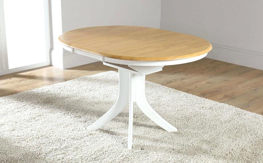 Round Extended Dining Table Exquisite Ideas White Round Extending Regarding White Round Extending Dining Tables (Image 17 of 25)