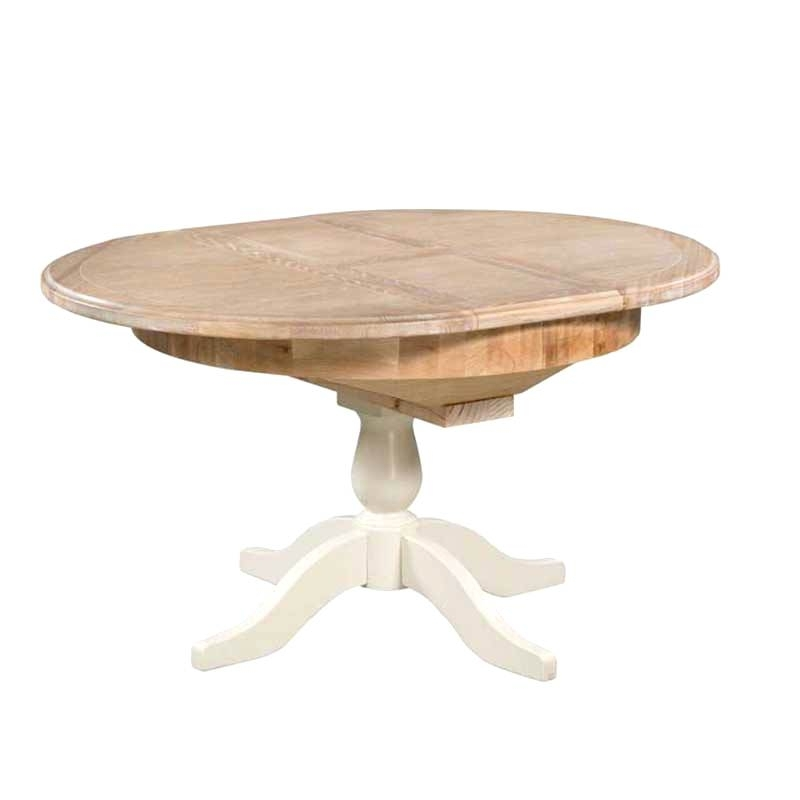 Round Extended Dining Table Round Extendable Dining Table Extended Inside Extended Round Dining Tables (Image 23 of 25)