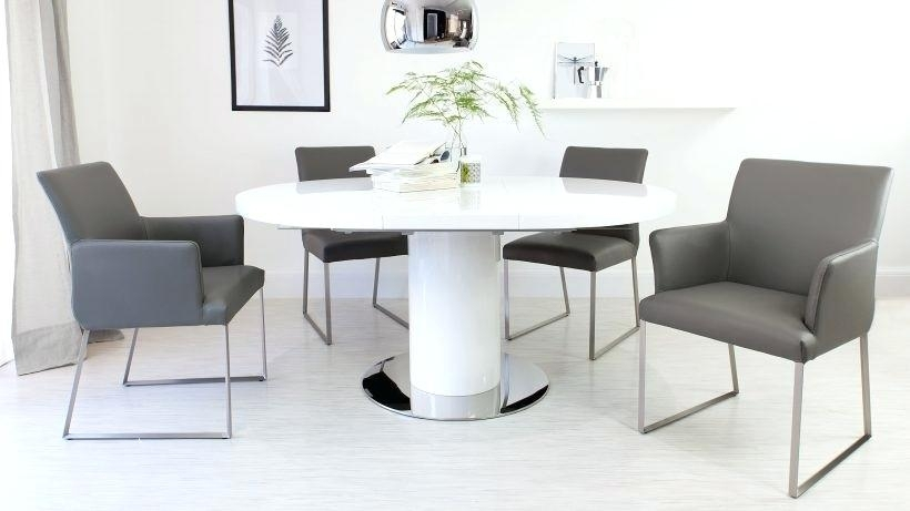 Round Extending Dining Room Table And Chairs Great Extendable Dining Within Round Extendable Dining Tables And Chairs (Image 21 of 25)