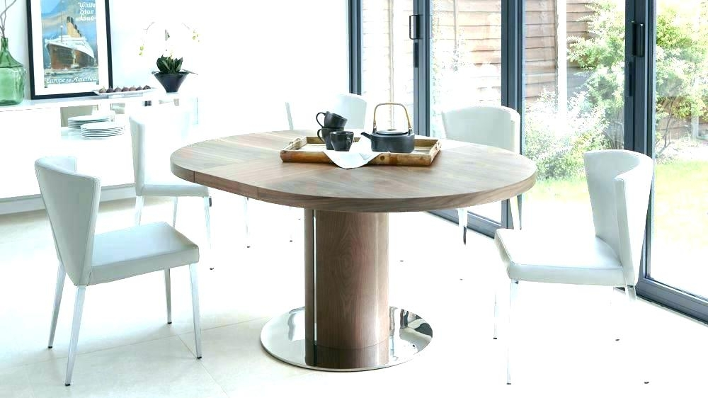 Round Extending Dining Table And Chairs – Bienmaigrir For Round Extending Dining Tables Sets (Image 17 of 25)