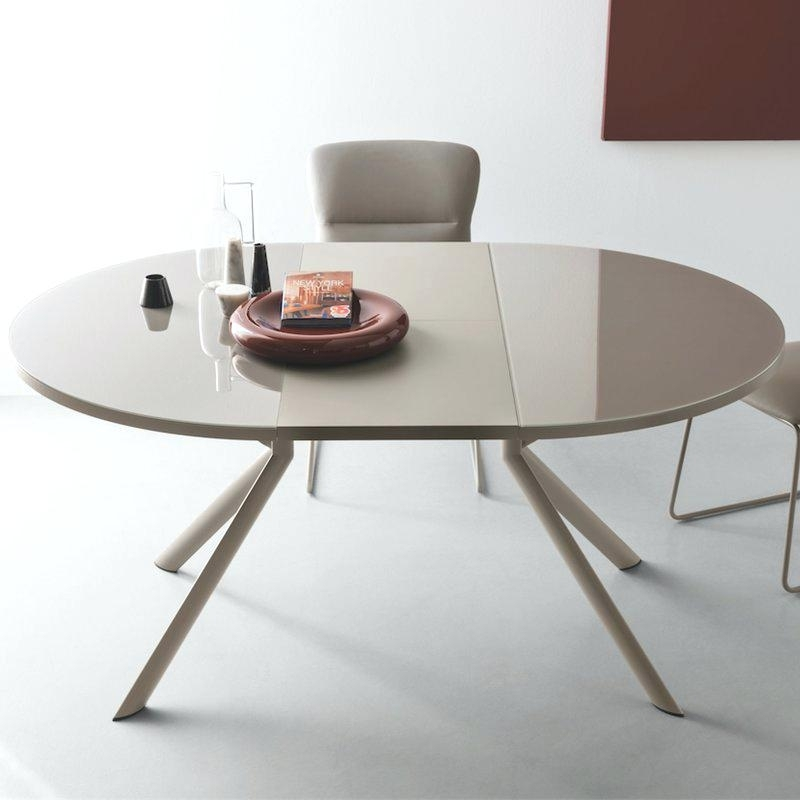 Round Extending Dining Table Sets – Activeescapes With Glass Round Extending Dining Tables (Image 23 of 25)