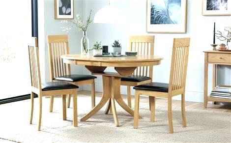 Round Extending Dining Table Sets – Stylefemme (View 9 of 25)