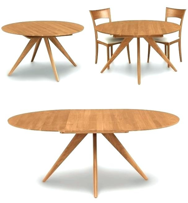 Round Extending Dining Table Sets – Stylefemme (Image 24 of 25)