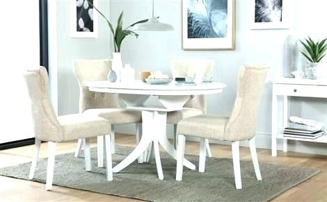 Round Extending Dining Table Sets – Stylefemme (View 18 of 25)