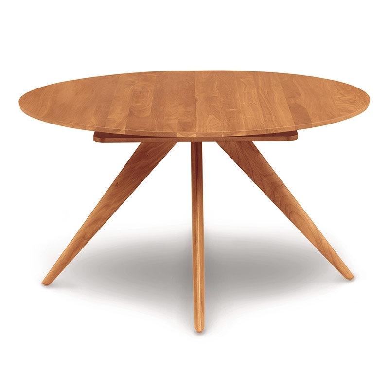 Round Extension Dining Table – Karaelvars Throughout Jaxon Round Extension Dining Tables (Image 21 of 25)