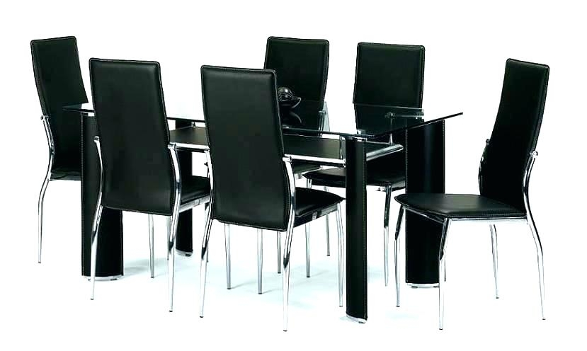Round Glass Dining Table For 6 Glass Dining Table And Chairs Dining With Glass Dining Tables With 6 Chairs (Image 24 of 25)