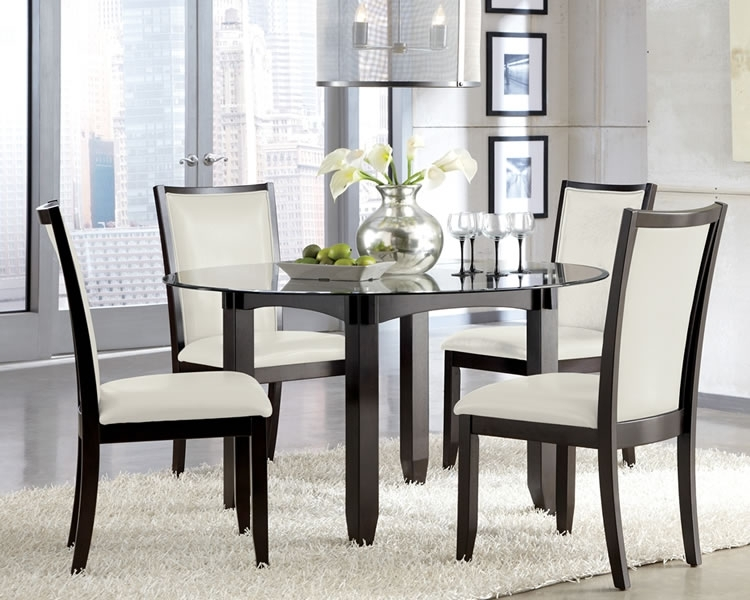 Round Glass Dining Table Set – Decorating Dining Area With Round For Glass Dining Tables Sets (View 22 of 25)