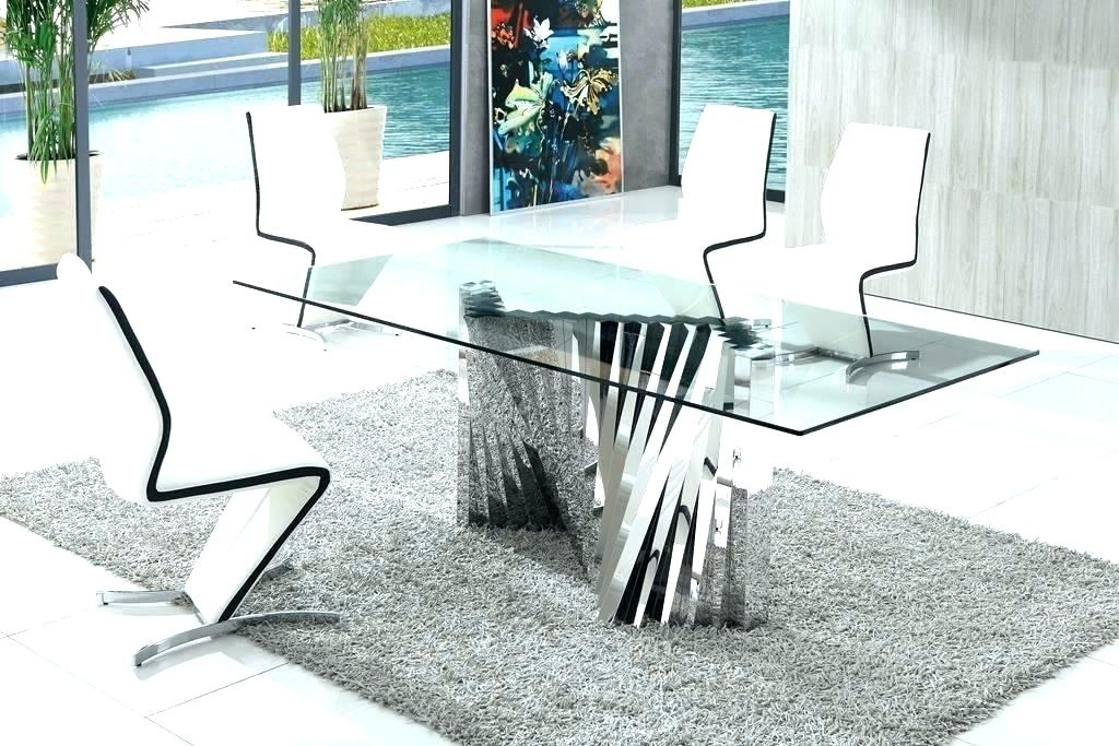 Round Glass Dining Tables – Buxenz Within Glass Dining Tables Sets (Image 23 of 25)