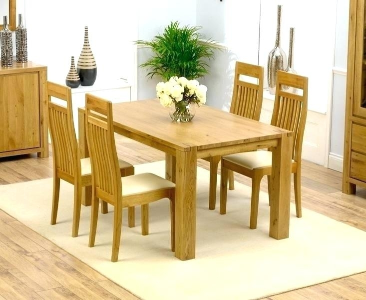 Round Oak Dining Table And Chairs Royal Oak Dining Table 4 Chairs For Round Oak Dining Tables And 4 Chairs (Image 19 of 25)