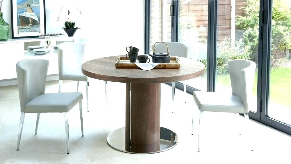 Round Pedestal Extending Dining Table Furniture Nice Pedestal Dining Within Extended Round Dining Tables (Image 25 of 25)