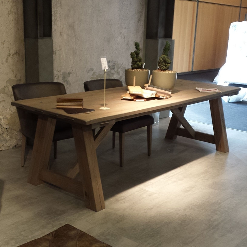 Round Rustic Dining Tables – Thunderdomemag Home Decor Pertaining To Rustic Dining Tables (View 10 of 25)