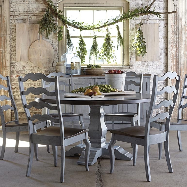 Round Tables | Round Dining Tables Regarding Artisanal Dining Tables (Image 21 of 25)