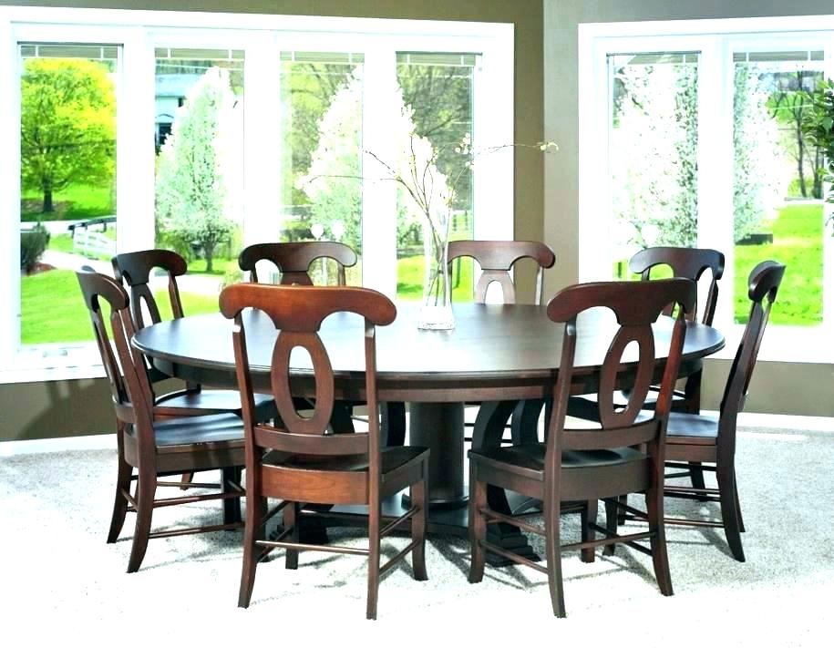 Round Wood Dining Table For 8 – Sofaby With Regard To Dining Tables For Eight (Image 23 of 25)
