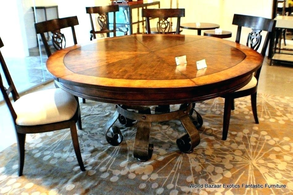 Round Wood Dining Table Set Dining Tables Round Wood Dining Table In Circle Dining Tables (Image 22 of 25)
