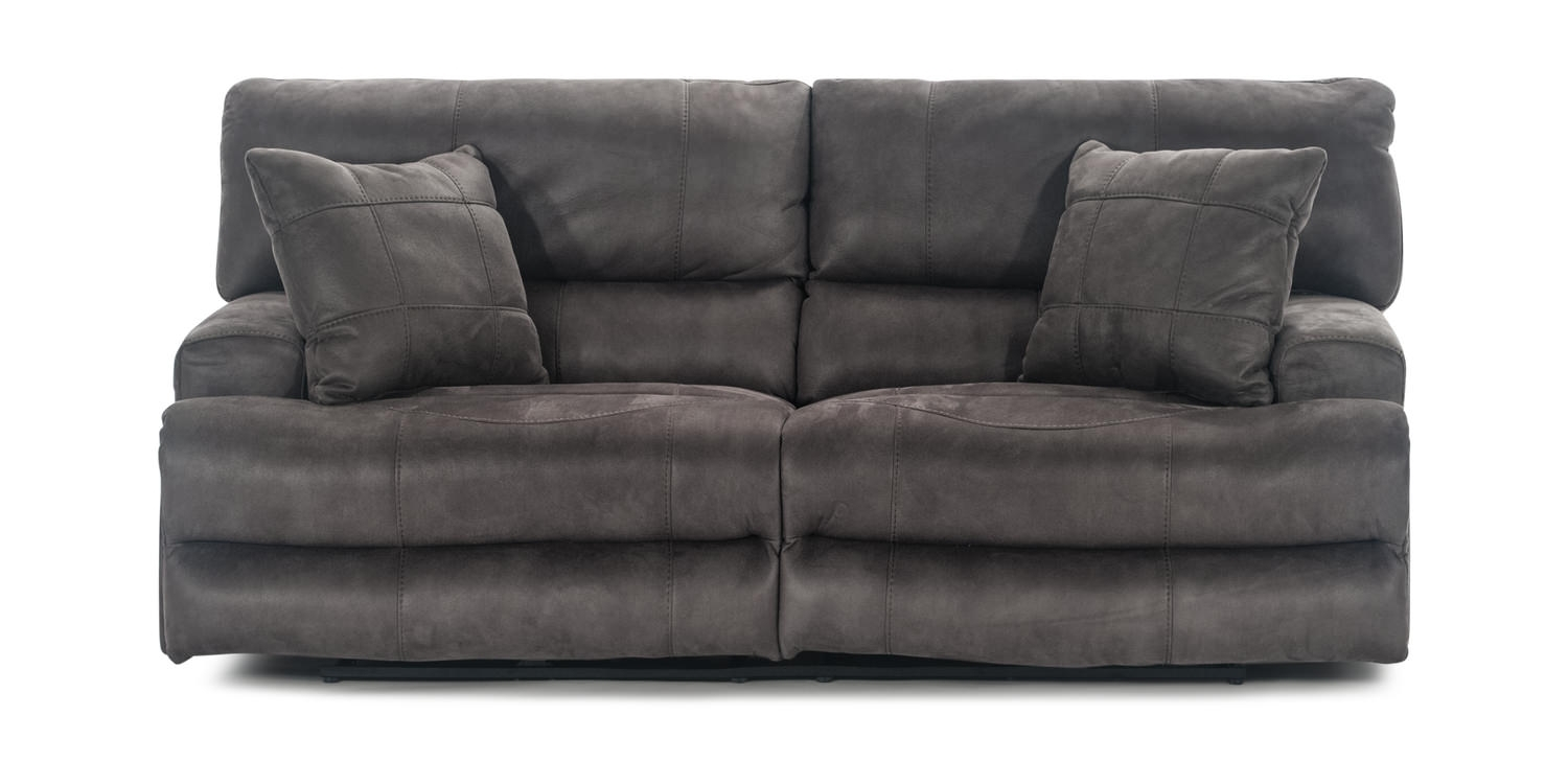 Rover Dual Power Reclining Sofa | Hom Furniture Within Blaine 3 Piece Sectionals (Image 20 of 25)
