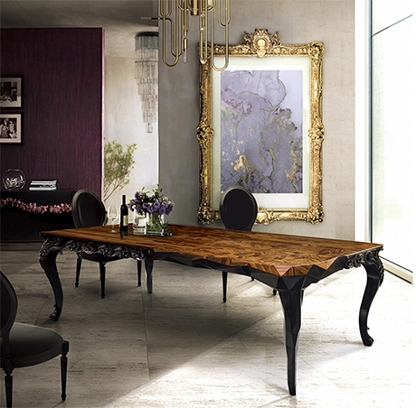 Royal Dining Table Exclusive Furniture In Royal Dining Tables (Image 20 of 25)