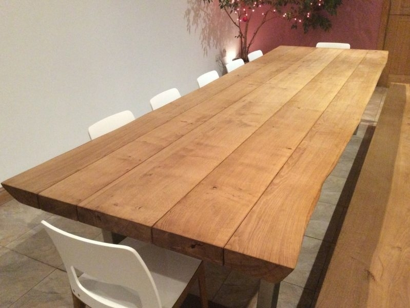 Rustic Dining Table Selection For Rustic Oak Dining Tables (Image 14 of 25)