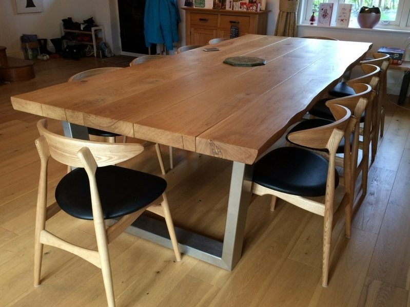 Rustic Dining Table Selection Intended For Oak Dining Furniture (Image 21 of 25)