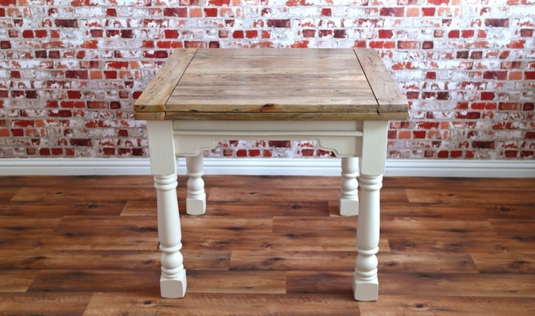 Rustic Farmhouse Range From Forget Me Knot Furniture Of Wiltshire For Square Extendable Dining Tables And Chairs (Image 15 of 25)