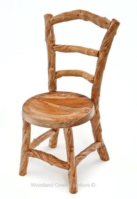Rustic Log Dining Chairs, Cabin Furniture, Lodge Chairs Regarding Dining Chairs (Image 23 of 25)