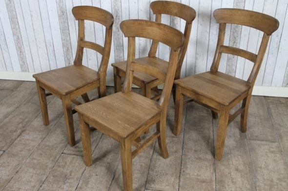 Rustic Oak Dining Chairs Solid Oak Dining Chairs Curved Spoon Back Throughout Oak Dining Chairs (Image 20 of 25)