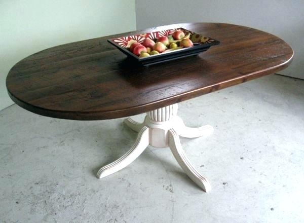 Rustic Oval Dining Table Rustic Dining Room Sets Rustic Trestle In Oval Reclaimed Wood Dining Tables (Image 20 of 25)