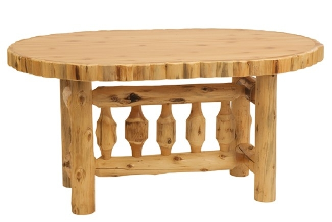 Rustic Oval Log Dining Table 8 Wliquid Glass Finish – Reclaimed In Oval Reclaimed Wood Dining Tables (View 25 of 25)