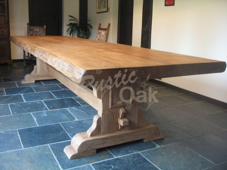 Rustic Wooden Dining Table | Www (Image 21 of 25)