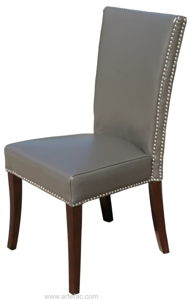 Rv 007 Highback Leather Dining Chair In High Back Leather Dining Chairs (View 4 of 25)