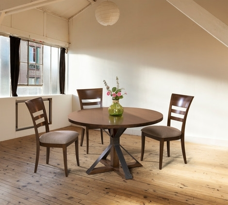 Saloom Furniture Cambridge Round Dining Table – 2Modern With Regard To Cambridge Dining Tables (Image 24 of 25)